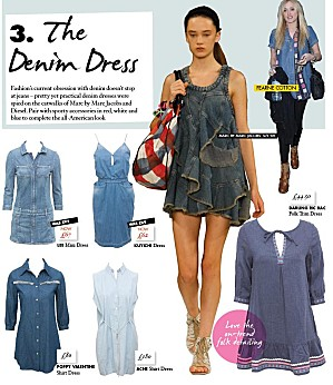 asos denim dress Denim dresses are back !