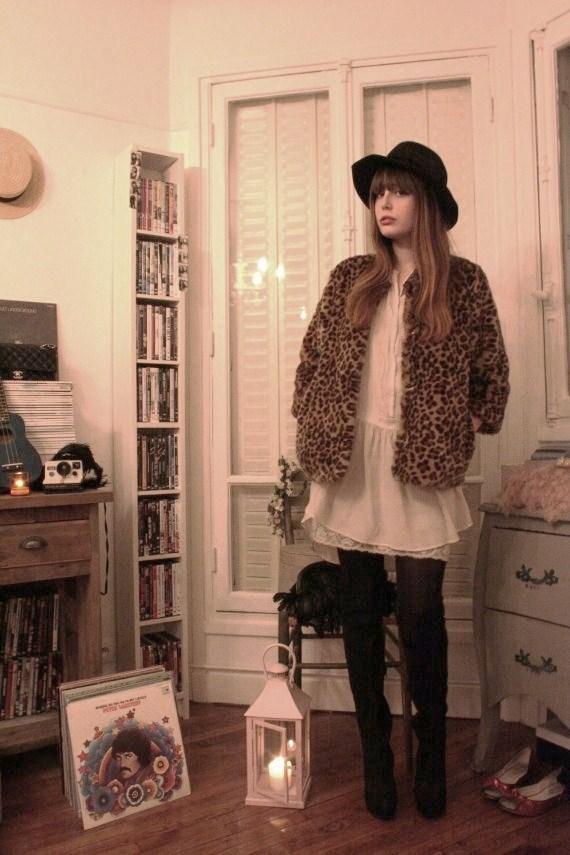 pandora veste leopard
