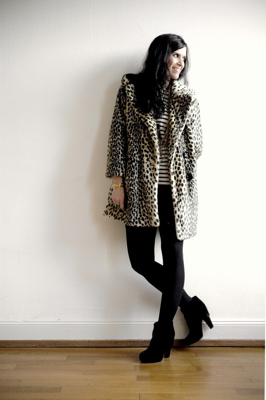 topshop leopard punky b