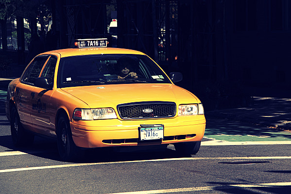 new york miscellaneous 3 yellow cabs pauline. Black Bedroom Furniture Sets. Home Design Ideas