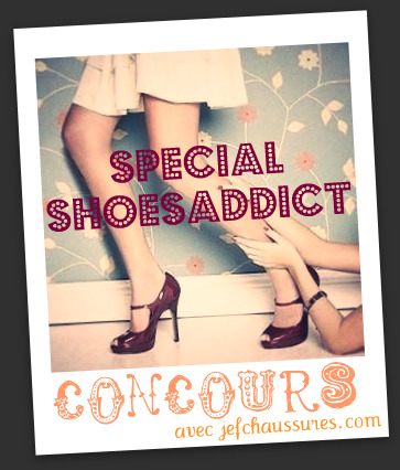 Concours Jefchaussures Blog Mode