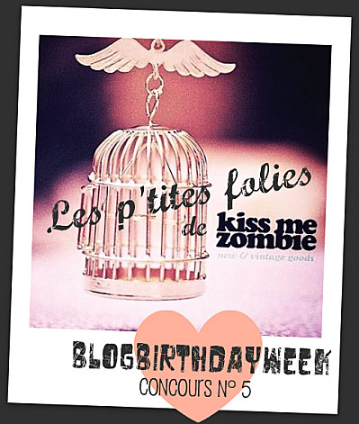 kiss me zombie concours blog