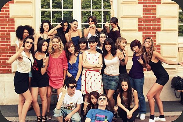 photo de classe de blogueuses
