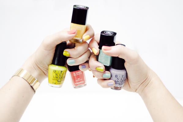 rainbow nails 0060 RAINBOW NAILS (Ceci n'est pas un tutoriel de Nail Art)
