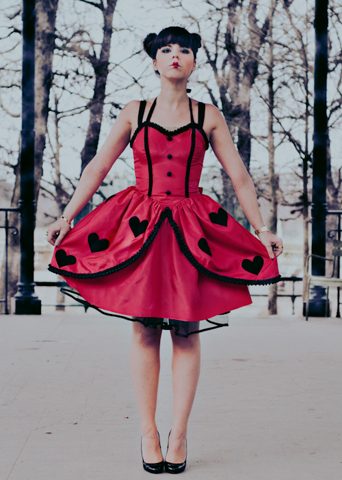 paulinefashionblog.com alice et la dame de coeur l copie 31 ♠ The Wonderland Queen of Hearts ♠