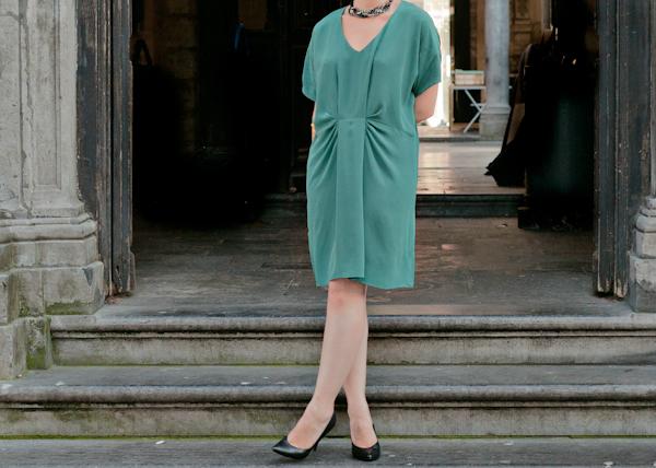 Belles robes blog robe verte comptoir des cotonniers - Robe verte comptoir des cotonniers ...