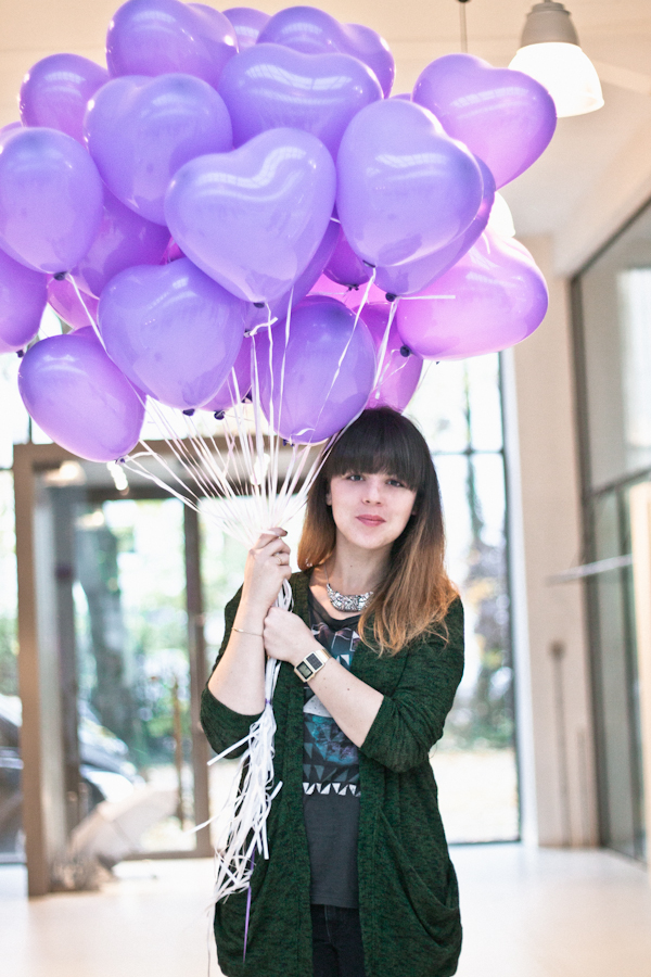 purple balloons stylight munich paulinefashionblog  3 Stylight Bloggers Week end in Munich : Purple Yummy Breakfast !