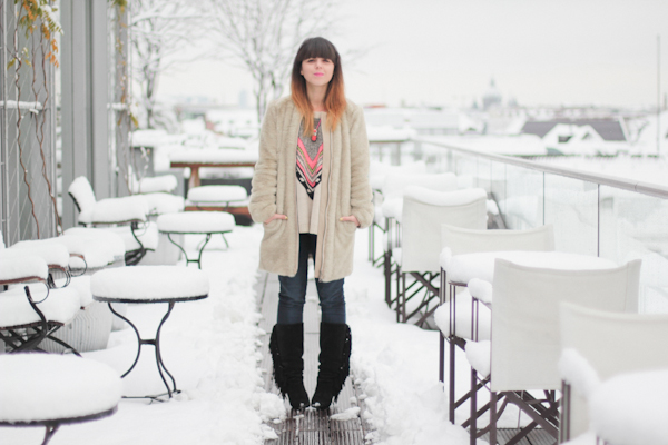 snow in october munich paulinefashionblog  41 Snow Dream in Germany   Munich Bayerischer Hof Rooftop