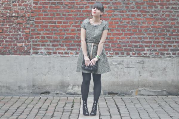 vero moda mysweetdressing paulinefashionblog.com  #OOTN My Sweet Dressing