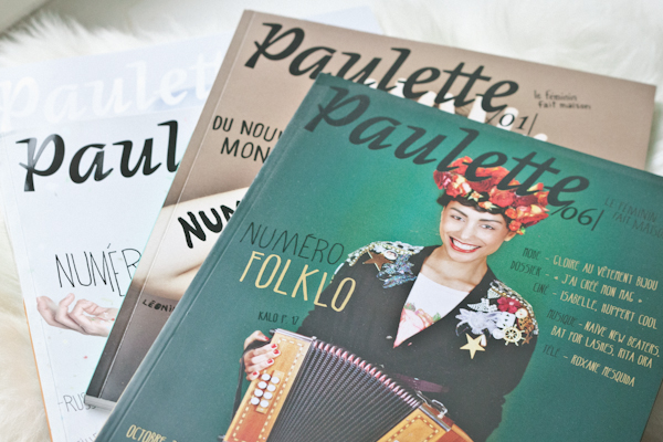 magazine paulette hold up cover girl paulinefashionblog.c Ma lectrice en couv' de Paulette !