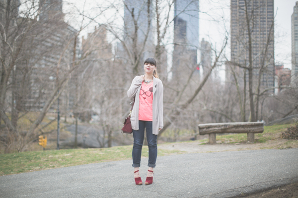 Maison Scotch t shirt Bionda Castana shoes PAULI copie 3 Central Park