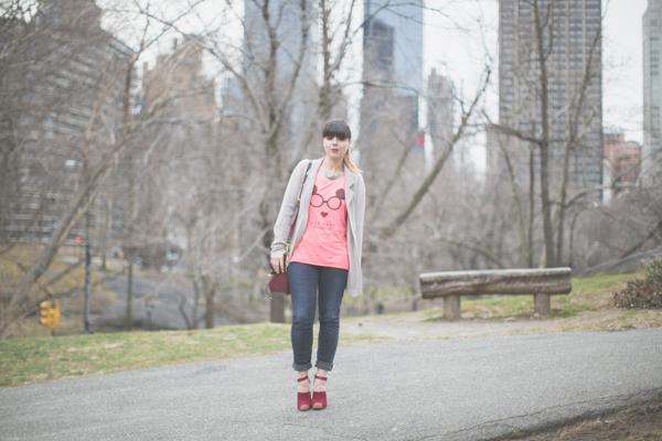 Maison Scotch t shirt Bionda Castana shoes PAULI copie 7 Central Park