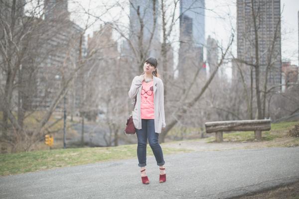 Maison Scotch t shirt Bionda Castana shoes PAULINEFASHION Central Park