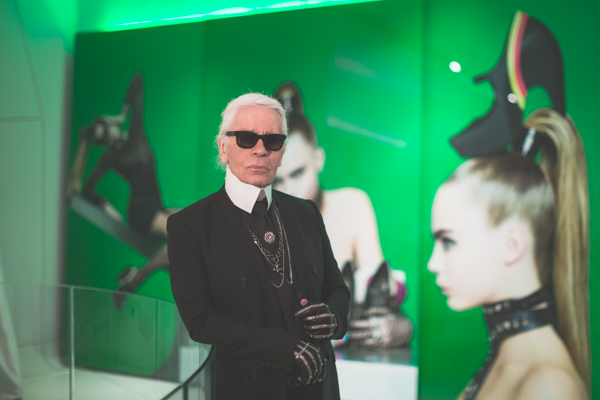 karl lagerfeld melissa shoes new york event PAULINEFASHIO Karl Lagerfeld x Melissa : its a (plastic) dream come true !