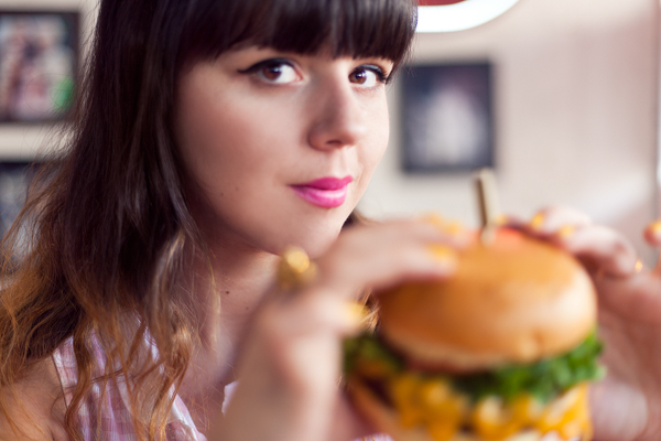 big daddys diner burger photoshoot PAULINEFASHIO copie 14 ♥ Burger forever ♥