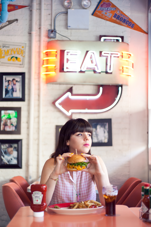 big daddys diner burger photoshoot PAULINEFASHIO copie 16 ♥ Burger forever ♥