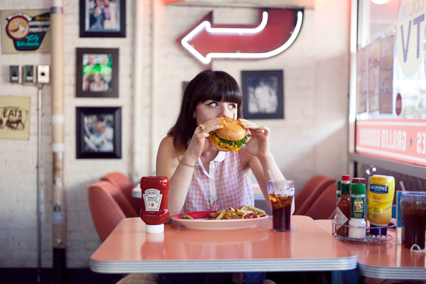 big daddys diner burger photoshoot PAULINEFASHIO copie 17 ♥ Burger forever ♥