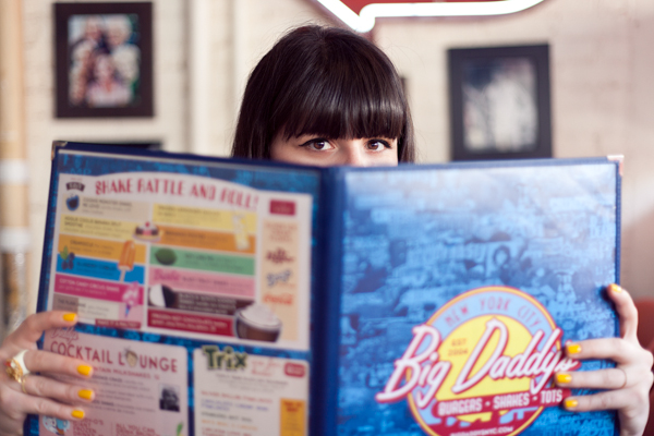 big daddys diner burger photoshoot PAULINEFASHIO copie 2 ♥ Burger forever ♥